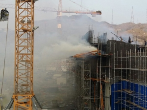 kebakaran masjidil haram;