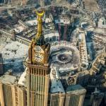 zamzam tower, menara jam mekah