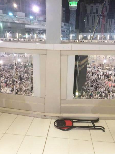 wanita bunuh diri di masjidil haram