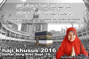 Paket Haji Khusus 2016