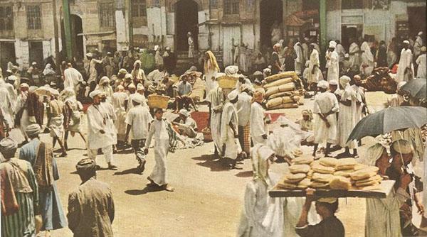 Pasar Mekah Jaman dulu