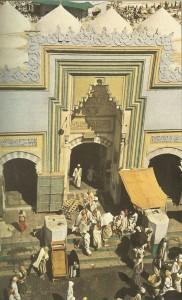 pintu masuk masjidil haram jaman dulu