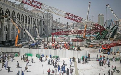 crane jatuh di masjidil haram