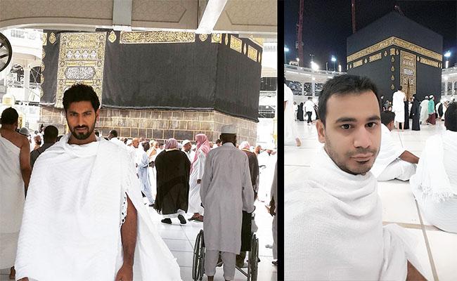 Selfie Umroh Sendiri Depan Kabah