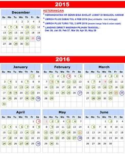 Jadwal Umroh 2015