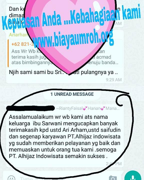testimonial jamaah umroh Alhijaz