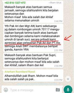 testimoni kepuasan jamaah umroh al hijaz