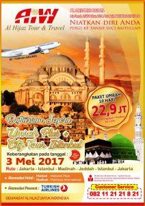 Umroh Plus City Tour Istanbul 3 Mei 2017