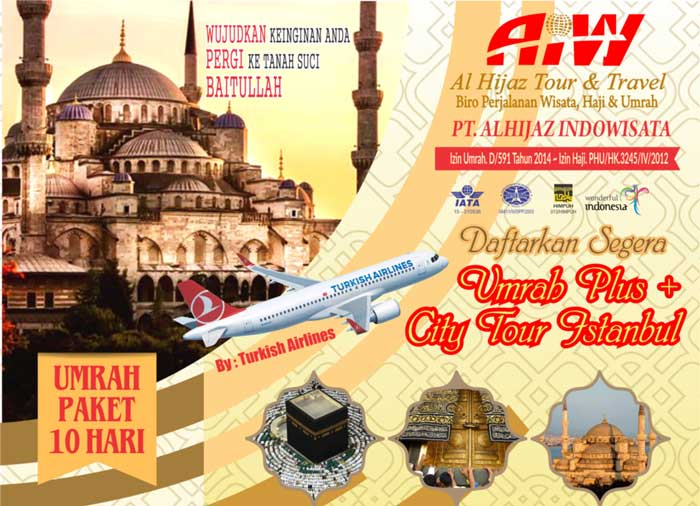 umroh city tour istanbul